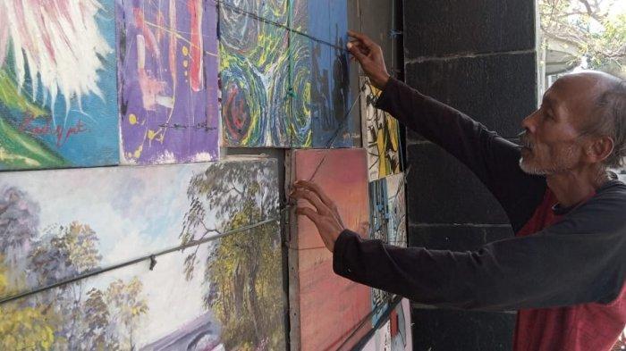 Nasib Pelukis di Jalan Braga, Mereka Semakin Sulit Menjual Karyanya di Tengah Pandemi