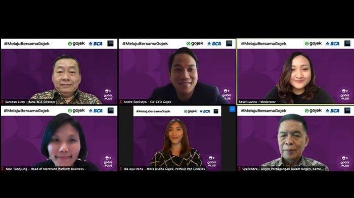 DukungUMKMBerkembang Pesat,Gojek Gandeng BCA Luncurkan GoBizPlus