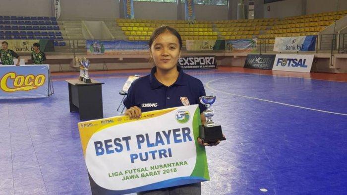 Sempat Ditentang Keluarga, Ketekunan Mojang Cantik Ini Bermain Futsal Berbuah Prestasi Juara