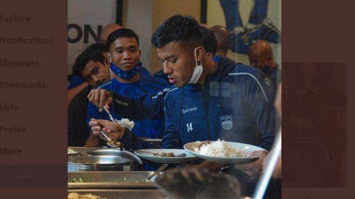 Pemain Persib Bandung Saroleh Pisan, Mau Duel Vs PSS Sleman Tetap Puasa Ramadan, Lihat Menu Bukanya