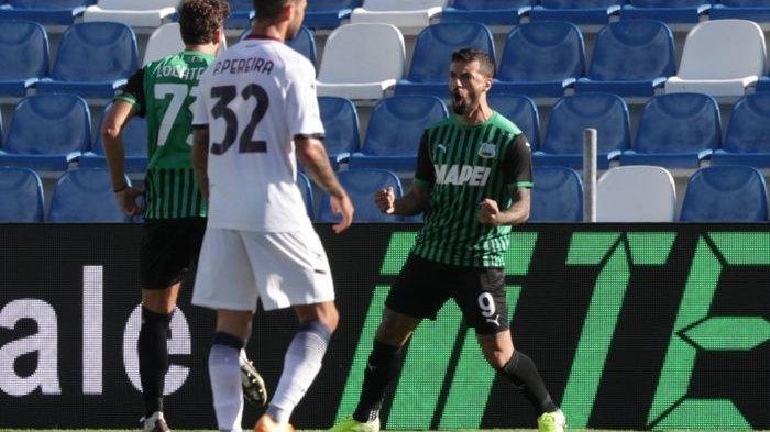 Hasil Liga Italia - AS Roma Menang Tipis, Sassuolo Pimpin Klasemen Sementara