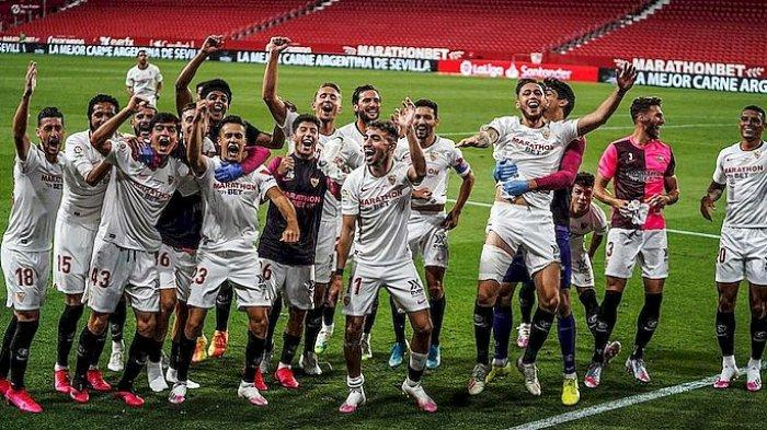 Fakta Menarik Sevilla di Liga Eropa, Manchester United Harus Mewaspadainya