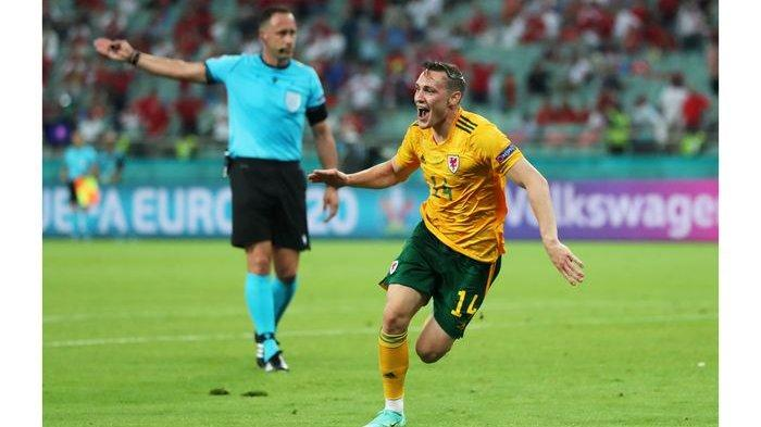 HASIL Euro 2020,Kalah dari Wales 0-2, Turki  Belum Dapatkan Poin