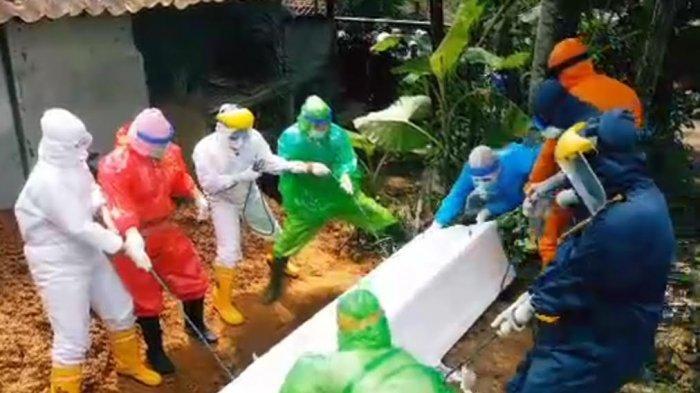 Di Kabupaten Sukabumi Sudah 5 Kali Digelar Pemakaman dengan Protap Covid-19