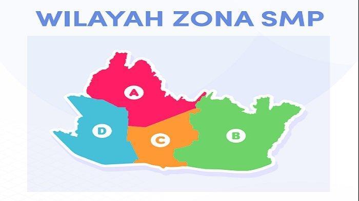 Pembagian wilayah zona SMP PPDB Kota Bandung 2021