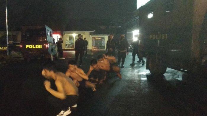 Pembalap Liar Kocar-kacir Saat Timsus Maung Galunggung Datang, 8 ABG Diamankan Termasuk 2 Perempuan
