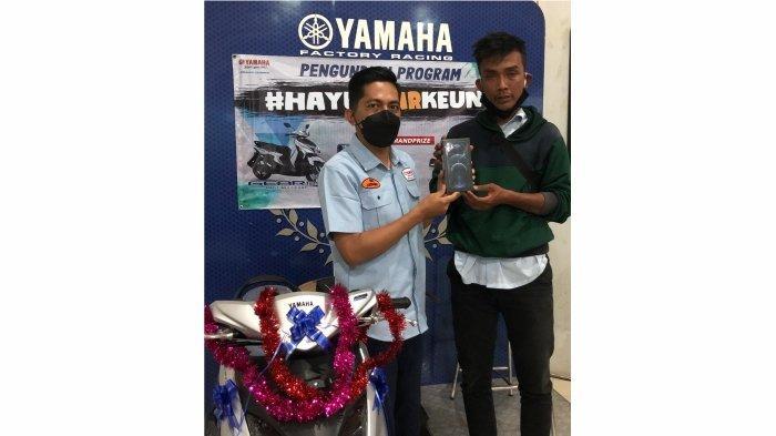 #HAYUGEARKEUN Beli Yamaha Gear 125 sekarang! Bisa dapetin Iphone 12 Pro Max