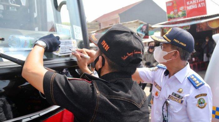 Libur Panjang, Ramp Check untuk Bus Wisata di Exil Tol Soroja