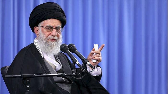 Pidato Pemimpin Tertinggi Iran Ayatollah Ali Khamenei Sebut Gunakan Senjata Nuklir Itu Haram