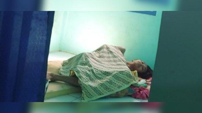 Geger Foto Pemuda di Cianjur Sakit, Tubuhnya Tinggal Kulit dan Tulang, Hidup Bersama Nenek Renta
