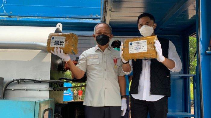 BNN KBB Musnahkan 284 Kilogram Ganja, Hengky Kurniawan Komitmen Berantas Peredaran Narkoba