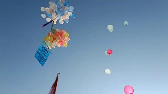 Kepsek SMA Karang Arum Bandung Tak Menyangka Balon Gas Bisa Sampai Cianjur dalam Waktu Singkat