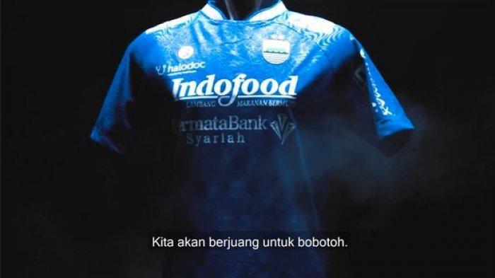 Begini Penampakan Jersey Home Persib Bandung yang Akan Dipakai Bertarung di  Liga 1 2021 - Tribun Jabar