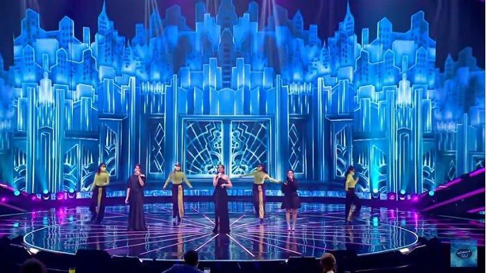 Indonesian Idol Road to Big 3, Lyodra, Tiara dan Ziva Tampil Spesial, Nyanyikan On the Ground - Rose
