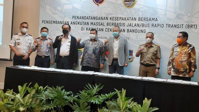 Desain Rinci BRT Bandung Raya Akan Rampung September 2021