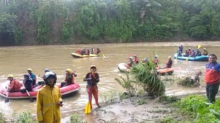 Bocah yang Hanyut Ditelan Banjir Bandang di Sungai Cicadas Tasikmalaya, Hingga Kini Belum Ditemukan