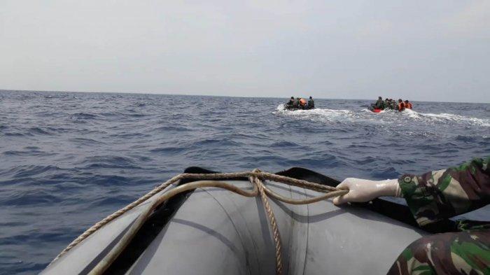Puluhan Kapal Disiagakan di Titik Kordinat Diduga Kuat Tempat Badan Pesawat Lion Air JT 610