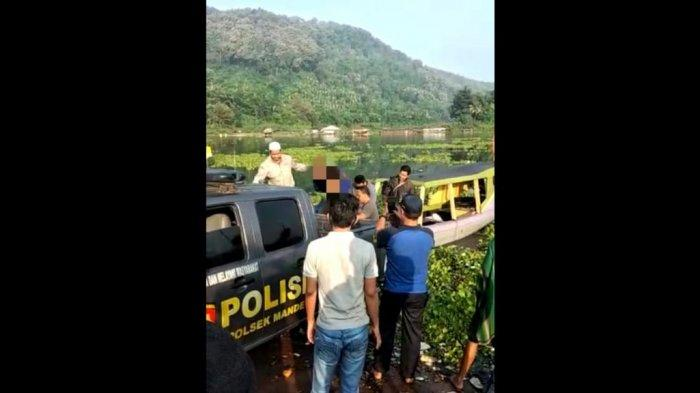 Setelah Curi 1 Kuintal Ikan di Cianjur, Pencuri Sembunyi Dalam Air, Warga Tunggu di Permukaan