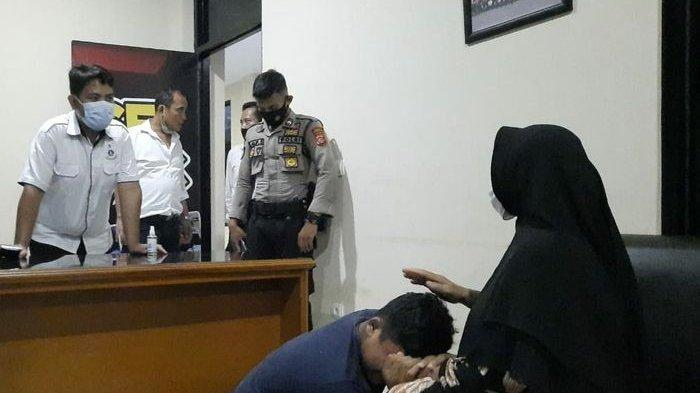 Anak di Bawah Umur Ikut Demo dan Beraksi Anarkis, Langsung Nangis Saat Ditengok Ibu di Kantor Polisi