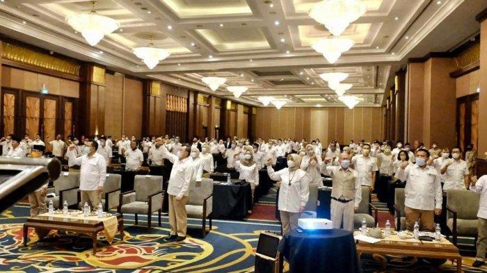 Gerindra Gelar Pendidikan Politik dan Rapat Konsolidasi Partai di Bandung