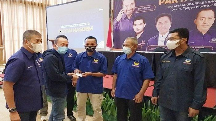 Partai Nasdem Cianjur Targetkan 10 Kursi, Mantan Bupati Cecep Muchtar Soleh Siap Kampanye