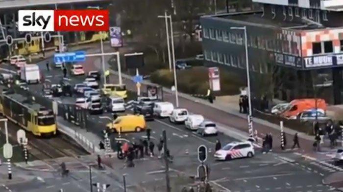 BREAKING NEWS: Penembakan di Trem Utretch Belanda, Ada Korban Tewas, Ini Video Situasi Terkini