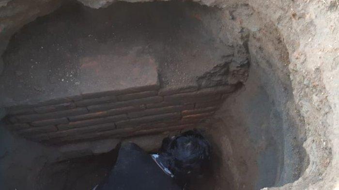 Batu Bata Diduga Peninggalan Majapahit Ditemukan, Diawali Warga Bermimpi di Sawah Ada Kerajaan