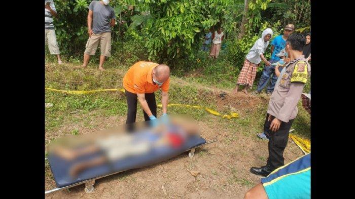 Pria Paruh Baya Ditemukan Tewas di Area Sawah Milik Warga di Purwakarta, Polisi Duga karena Sakit