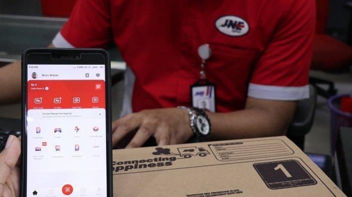 Penetrasi Pembayaran Nontunai, LinkAja Kolaborasi dengan JNE, Transaksi Konsumen Jadi Makin Mudah