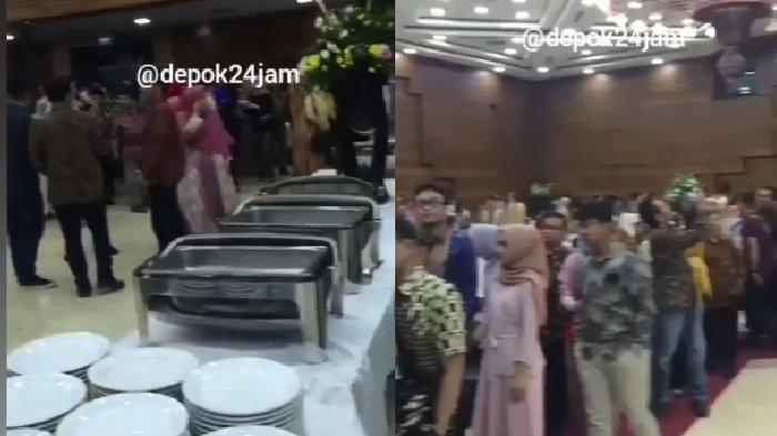 VIRAL, Pesta Pernikahan di Depok Ini Tak Hidangkan Makanan untuk Tamu, Ternyata Pengantin Ditipu WO