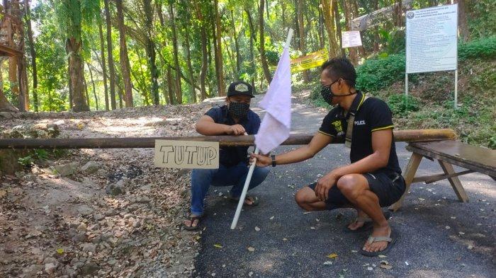 Bentuk Frustasi PPKM Diperpanjang, Pengelola Wisata di Majalengka Kibarkan Bendera Putih