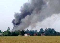 BREAKING NEWS, Penggilingan Padi di Subang Meledak, Ratusan Ton Gabah Terbakar, Diduga Karena Ini