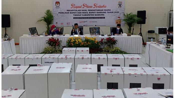 BREAKING NEWS: Hasil Hitung KPU Kabupaten Bandung 2020, Dadang - Sahrul Gunawan Raih Suara Terbanyak