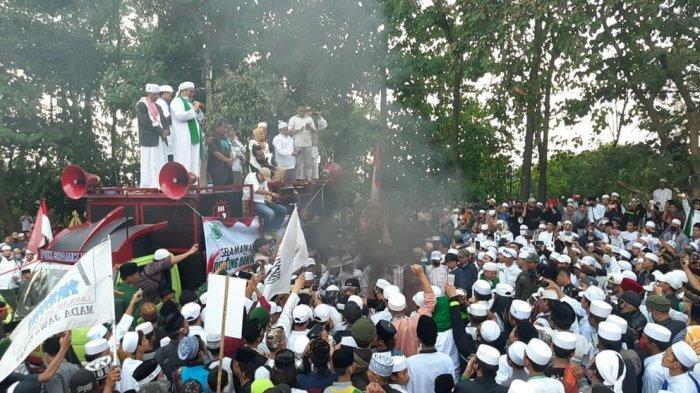 Demonstran Minta Jokowi dan Jenderal Idham Aziz Sikat Pengusul RUU HIP, Yakini Ada Paham Komunis