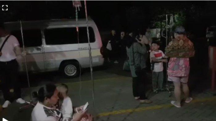 Gempa 7,4 SR, Rina Lari Dari Lantai 3 Rumah Sakit Sambil Gendong Anak dan Bawa Tiang Infus