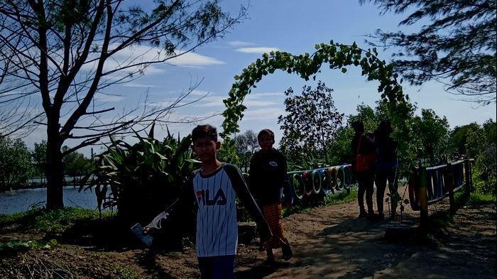 Pantai Balongan Kesambi Indramayu Dulu Tempat Bercumbu, Kini Indah, Ramai Berkat Kreativitas Pemuda