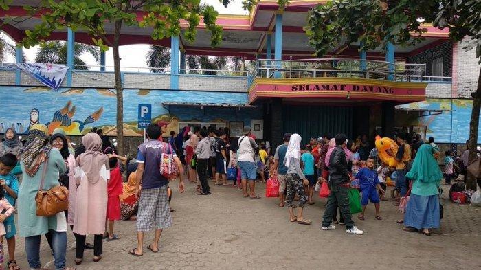 H+1 Lebaran 2019, Jumlah Pengunjung Kolam Renang Tirta Indah Majalengka Tembus 10 Ribu