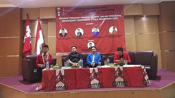 Pengurus GMNI Bandung Dilantik, Gelar Diskusi Bonus Demografi
