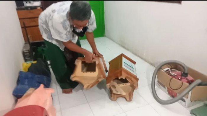 Dua Kotak Amal Masjid di Pangandaran Dibobol Maling, Uang Tercecer di Lantai, Sebagian Besar Hilang