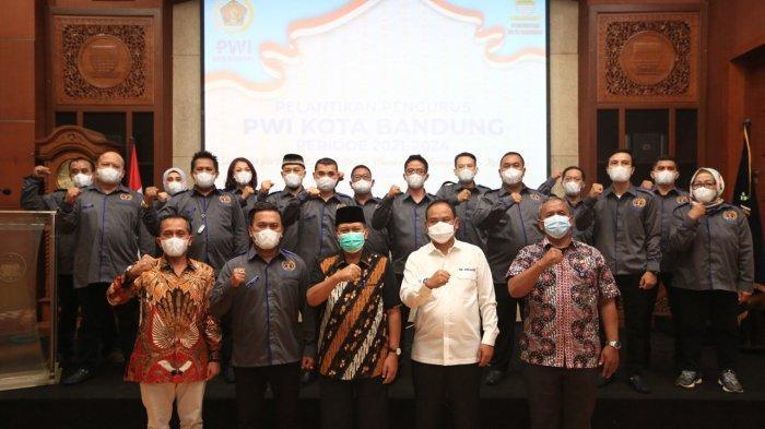 PWI Kota Bandung Dukung Program Wali Kota, Oded: Jauhi Hoaks, Bikin Masyarakat Tenang