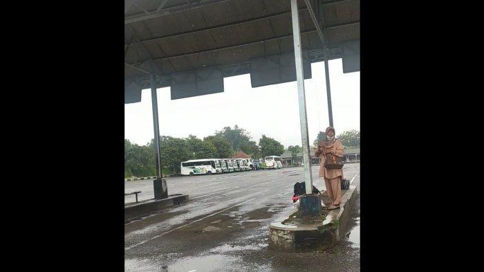 Penumpang Telantar di Terminal, Elf Jurusan Cianjur Selatan Mogok karena Banyak Angkutan Ilegal