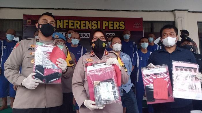 Polres Sukabumi Kota Tangkap 10 Pelaku Penyalahgunaan Narkoba, Bermodus COD Hingga Cara Tempel