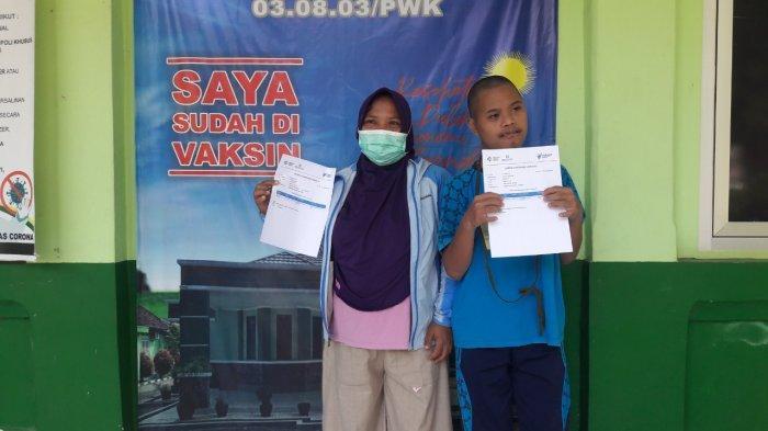 Penyandang Disabilitas di Purwakarta Jalani Vaksinasi Covid-19, Peserta Masih Kurang dari Target