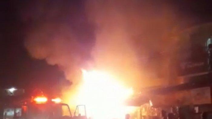 Penyebab POM Mini di Cianjur Meledak, Api Diduga Berasal dari Mainan Lodong