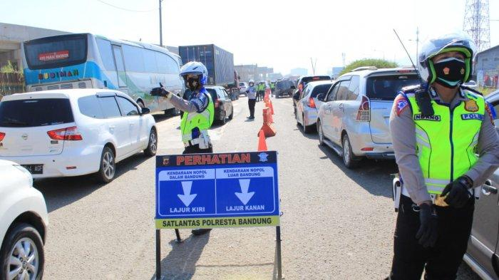 Kabupaten Bandung Tetapkan 8 Titik Penyekatan Jalan, 1300 Personel Diterjunkan, Berikut Lokasinya