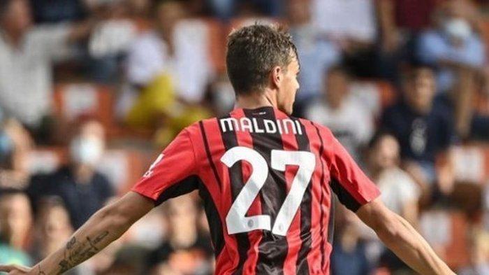 AC Milan Kalahkan Spezia, Maldini Cetak Gol Perdana, Dinasti Berlanjut