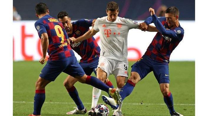 Barcelona Babak Belur dari Bayern Muenchen di Liga Champions, Joan Laporta Gelar Rapat Larut Malam
