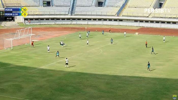 Persib Bandung Menang 11-0 di Uji Coba, Wander Luiz Cetak Gol Salto, Ini Video Gol-golnya