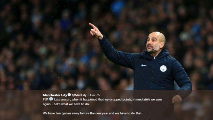 Manchester City Keok dari Tottenham Hotspur, Pep Guardiola Kurung Pemain di Ruang Ganti