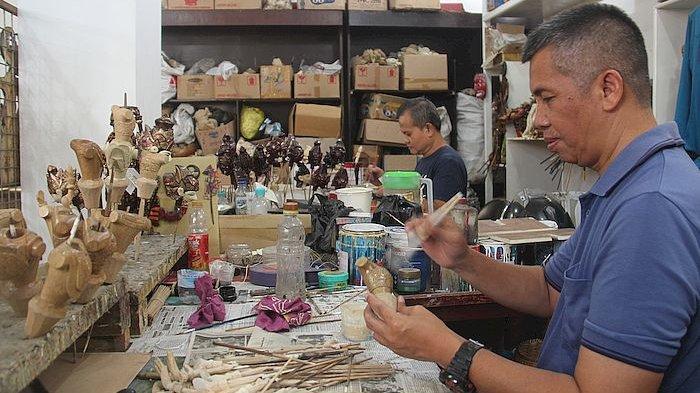 Wisata Budaya Wayang Golek di Galeri Cupumanik untuk Murid SD, di Sana Bisa Lihat Pembuatan Wayang